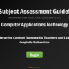 Interactive IEB Subject Assessment Guidelines