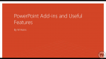 Very Cool PowerPoint Stuff