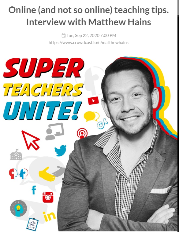 My Interview with Francois 'Super Teacher' Naudé