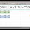 The difference between a formula and a function