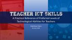 Professional ICT Development for Teachers