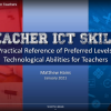 What ICT skills should teachers have?