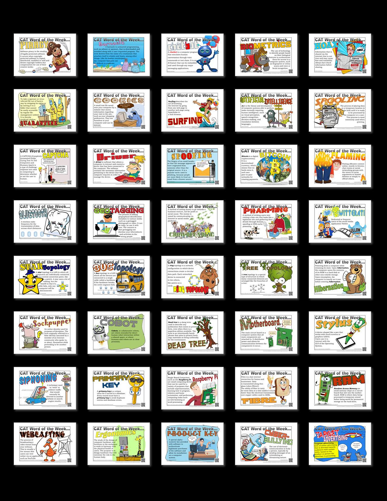 Word of the Week - 100 words download bundle